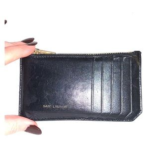 "YSL wallet / card holder 5"" long and 3"" wide"